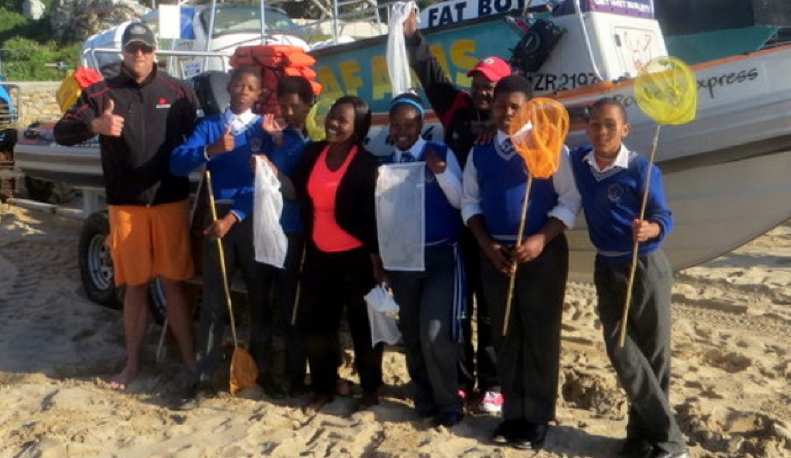 World Oceans Day Clean-up